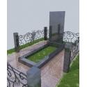 Памятник гранитный P-001