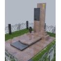 Гранітний пам'ятник KР-004