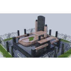Гранитный памятник KR-02