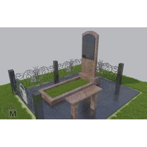 Гранитный памятник Р-016