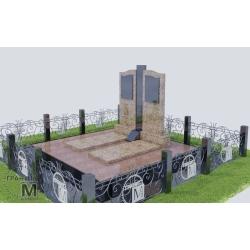 Гранитный памятник Р-0013
